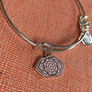 Alex and Ani Third Eye Chakra Silver Bangle NWT